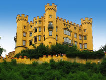 Hohenschwangau. This is one of the castles of Bavarian King Ludwig Royalty Free Stock Image