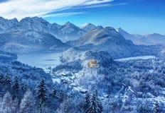 hohenschwangau Стоковая Фотография