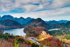 Hohenschwangau Royalty Free Stock Photography