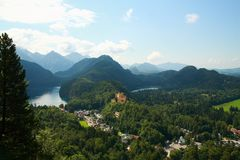 hohenschwangau castle Stock Photo