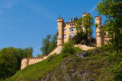 Hohenschwangau castle Royalty Free Stock Photo