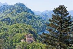 Hohenschwangau castle Stock Photos