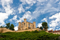 Hohenschwangau castle. In Bavaria, Germany Royalty Free Stock Image