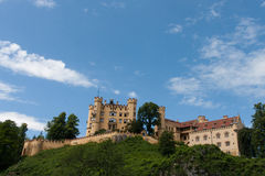 Hohenschwangau castle Royalty Free Stock Photography