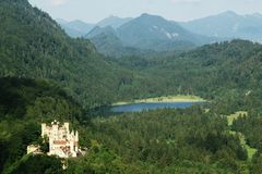 Hohenschwangau castle-Allgaeu-Germany Stock Photos