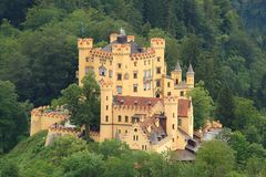 Hohenschwangau Castle in Bavaria Royalty Free Stock Photography