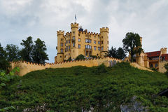 Hohenschwangau Castle in Bavaria Royalty Free Stock Photos