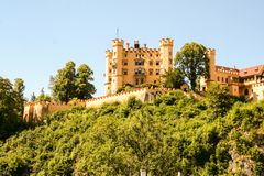 Hohenschwangau. Castle in Bavaria, Germany Royalty Free Stock Photography