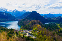 Hohenschwangau Castle, Bavaria, Germany. Stock Photography