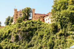 Hohenschwangau. Castle in Bavaria, Germany Stock Images