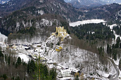 Hohenschwangau Castle.  Bavaria, Germany. Stock Images