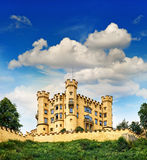 Hohenschwangau castle in the Bavarian Alps, Germany Stock Photography