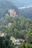 Hohenschwangau Castle in the Bavarian Alps, Germany. Stock Image