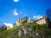 Hohenschwangau castle Stock Photography