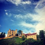 Hohenschwangau Castle. Close to neuschwanstein in Bavaria, Germany royalty free stock image
