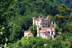 Hohenschwangau Castle, Germany Stock Photos