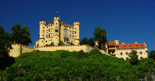 Hohenschwangau Castle, Germany. Hohenschwangau castle, bavaria southern germany royalty free stock images