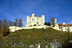 Hohenschwangau castle in Germany Stock Image