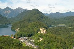 Hohenschwangau castle,Germany Stock Photos