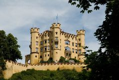 Hohenschwangau castle,Germany Stock Image