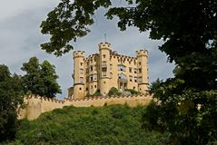 Hohenschwangau castle,Germany Royalty Free Stock Photography