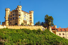 Hohenschwangau. Castle, Germany photographed in 2010 Stock Photography