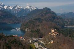 Hohenschwangau Castle Royalty Free Stock Photo
