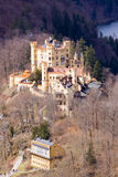 Hohenschwangau castle. In the province of bavaria Royalty Free Stock Photos