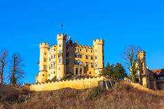 Hohenschwangau Castle Schloss in bavarian alps Royalty Free Stock Photos