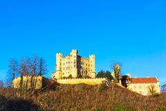 Hohenschwangau Castle Schloss in bavarian alps Royalty Free Stock Photography