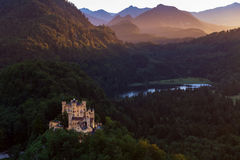 Hohenschwangau castle, Schwangau, South Bavaria, Germany Royalty Free Stock Photos