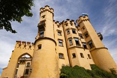 Hohenschwangau Castle in southern Germany royalty free stock photography