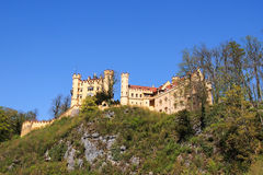 Hohenschwangau Castle, Southern Germany Stock Image