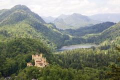Hohenschwangau de château photos stock