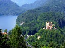 hohenschwangau de l'Allemagne de château de la Bavière Photos libres de droits