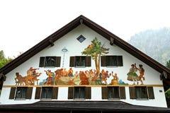 Hohenschwangau, Germany. Stock Image