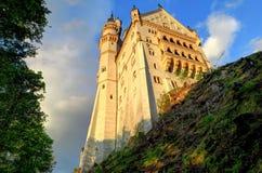 Neuschwanstein Castle from below Stock Photography