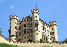 Hohenschwangau-Schloss stockbild