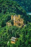Hohenschwangau Schloss in Deutschland lizenzfreies stockbild