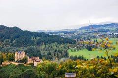 Hohenschwangau Schloss lizenzfreie stockfotos