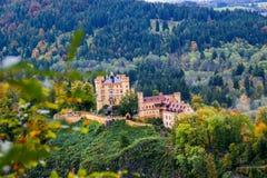 Hohenschwangau Schloss lizenzfreies stockbild