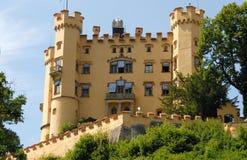 Hohenschwangau-Schloss im Bayern (Deutschland) Lizenzfreie Stockfotografie
