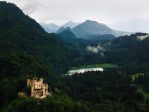 Hohenschwangau-Schloss im Südbayern Stockbild