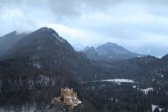 Hohenschwangau slott Arkivfoton