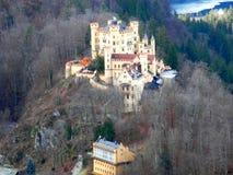 Hohenschwangau slott Fotografering för Bildbyråer