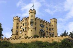 Hohenschwangau slott i Bayern - Tyskland Royaltyfri Foto