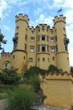 Hohenschwangau slott i Bayern - Tyskland Arkivbilder