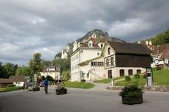 Hohenschwangau streets Stock Photo
