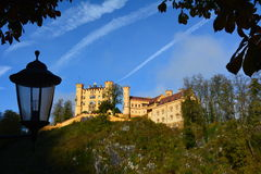 Hohenschwangau. 19th-century palace in southern Germany Royalty Free Stock Image