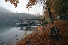 Hohenschwangau vicino a Fussen in Baviera, Germania Immagini Stock